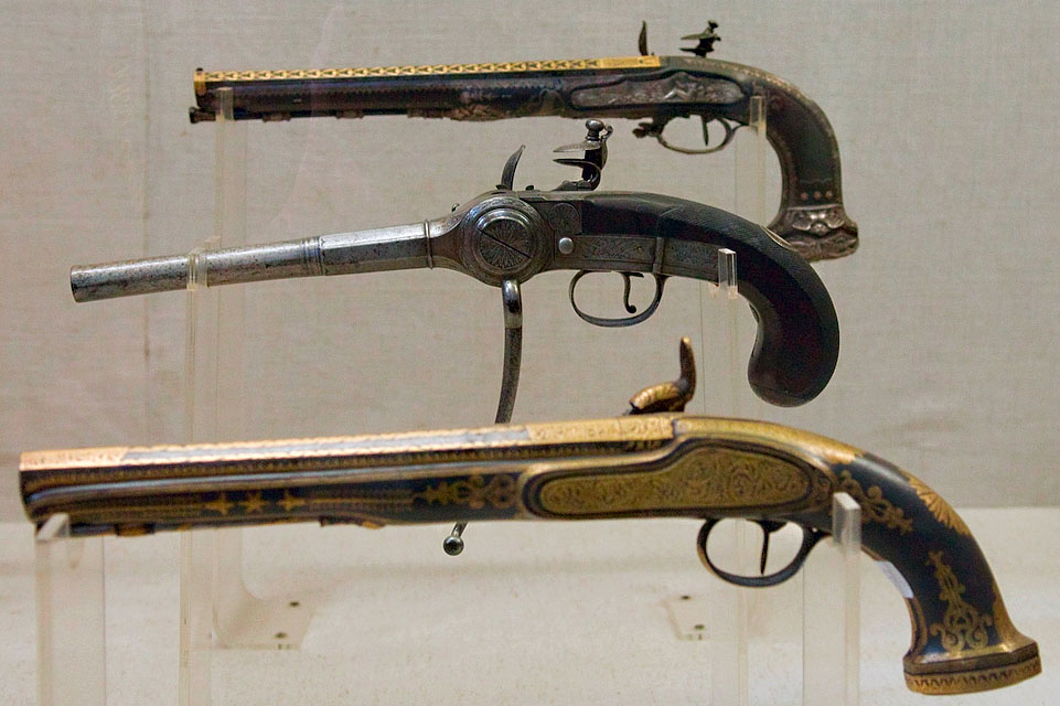 Разновидности мушкетов