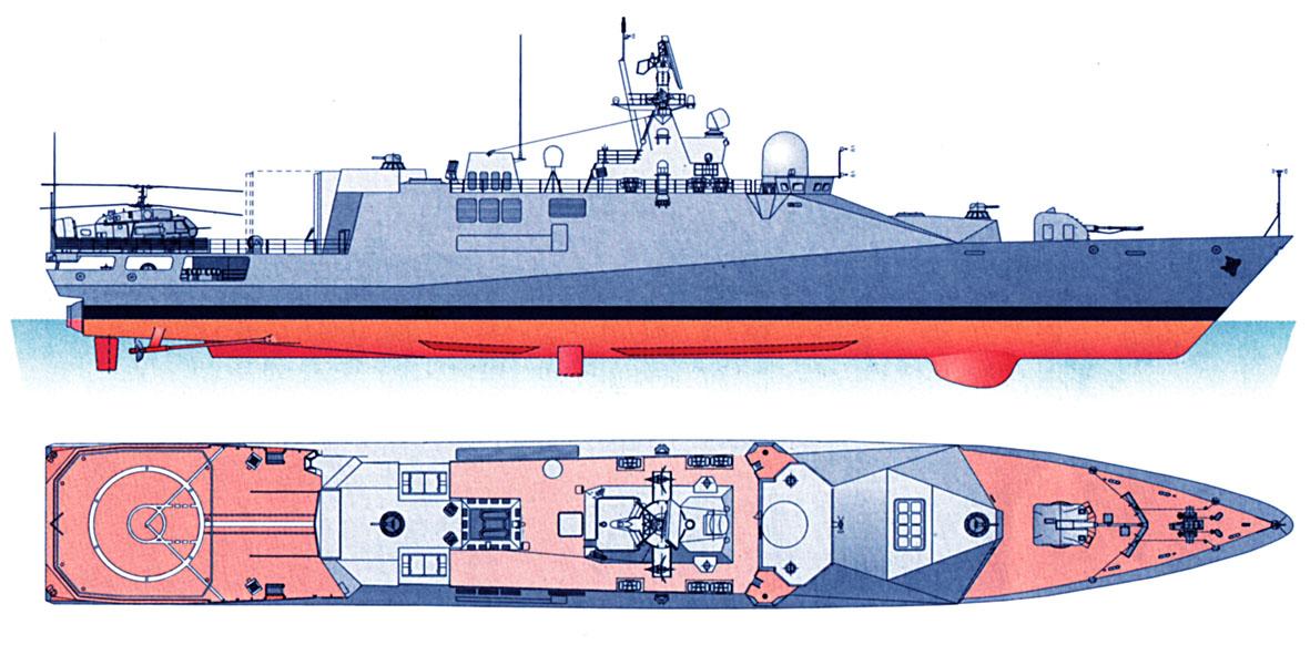 Схема проекта 20380