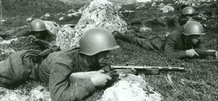 Солдаты с ППД
