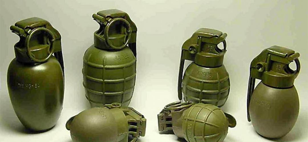 Современные осколочные гранаты