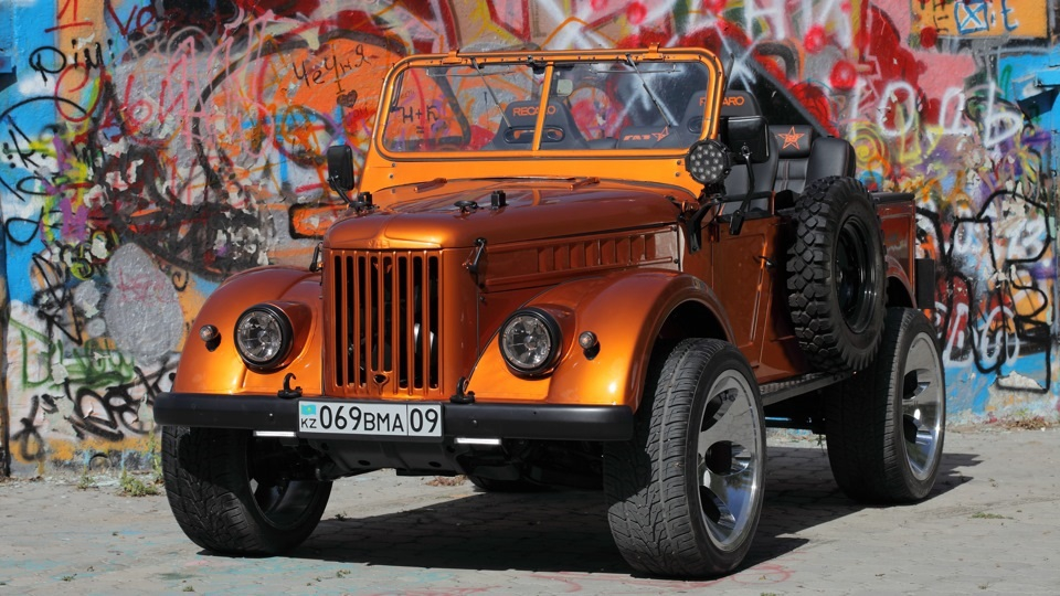 Современный ГАЗ-69