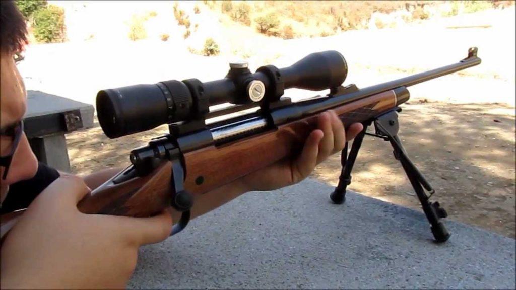Стрельба из Remington-700