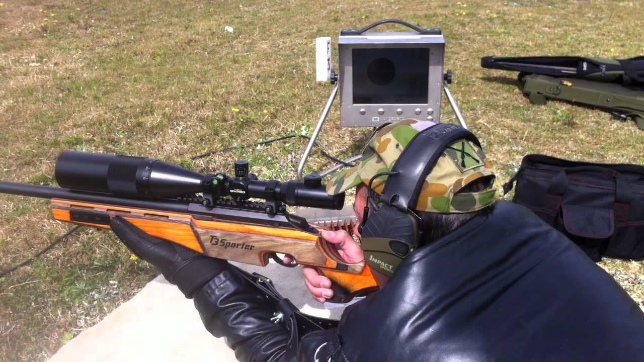 Стрельба из Tikka T3