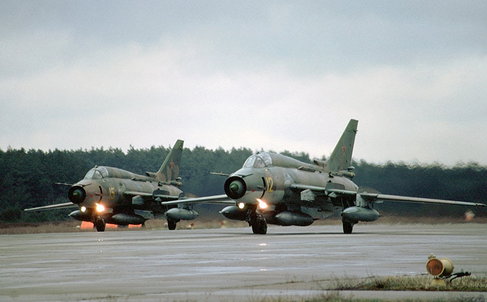 Су-17 в строю
