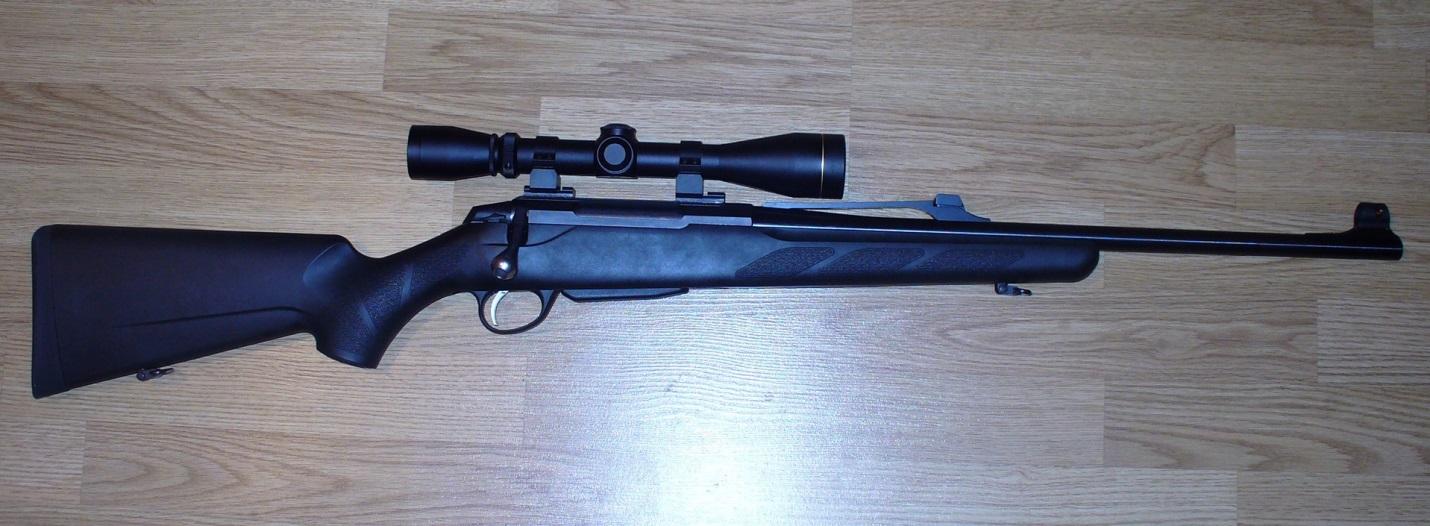 Tikka T3 с оптикой