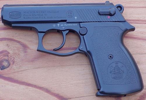 """Травматический пистолет """"Mauser HSc 90t"""""""