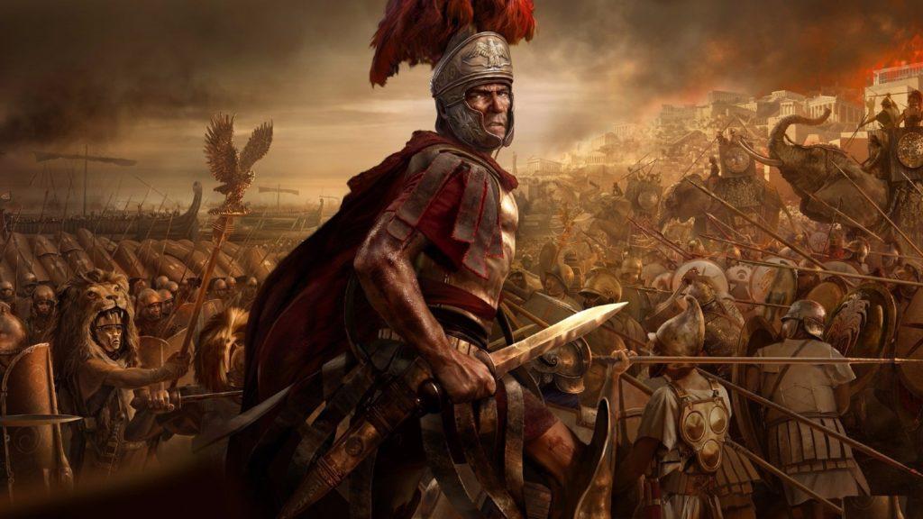 Воин с гладиусом