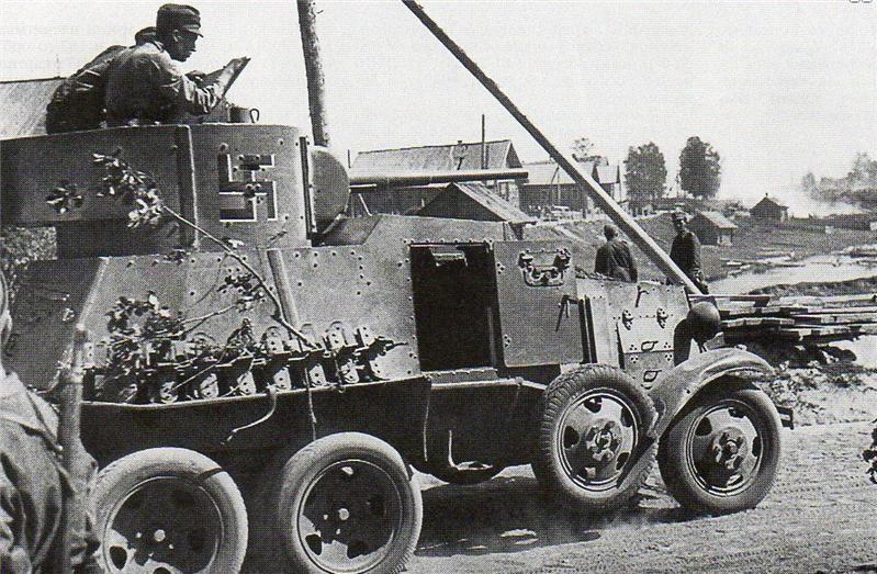 Захваченный БА-3