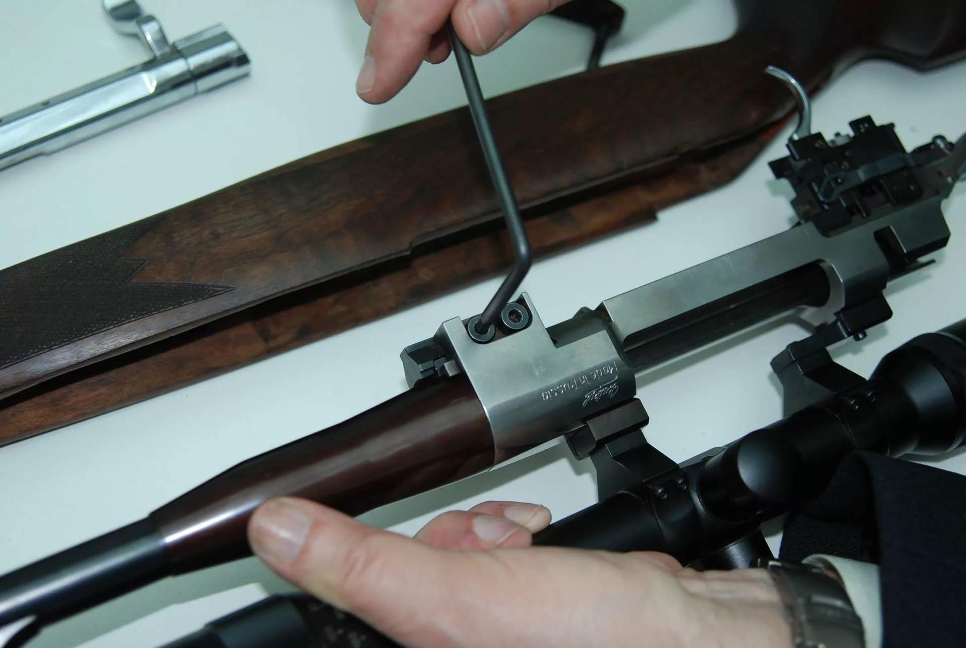 Замена ствола МР-142К
