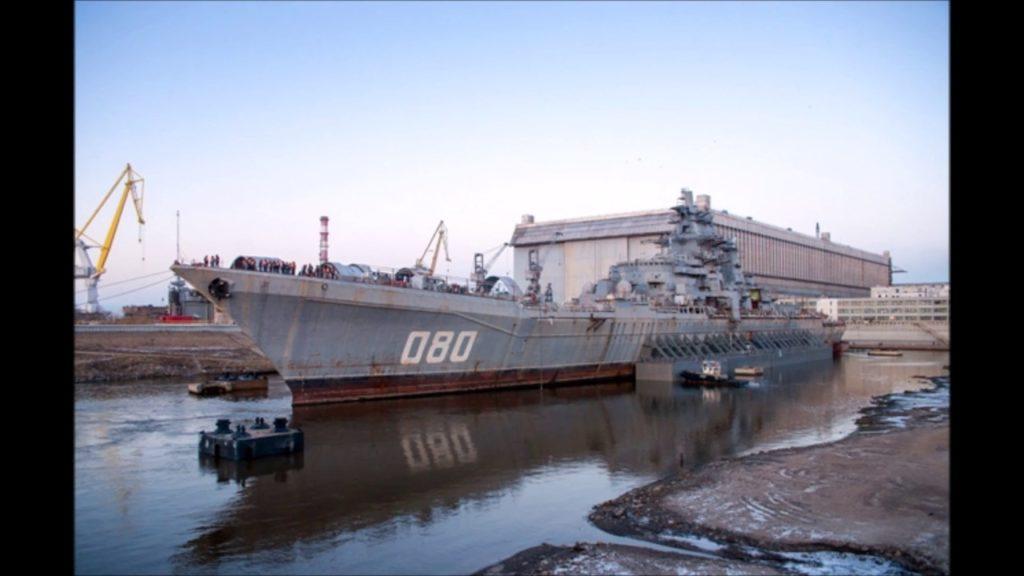 """""""Адмирал Нахимов"""" на модернизации"""