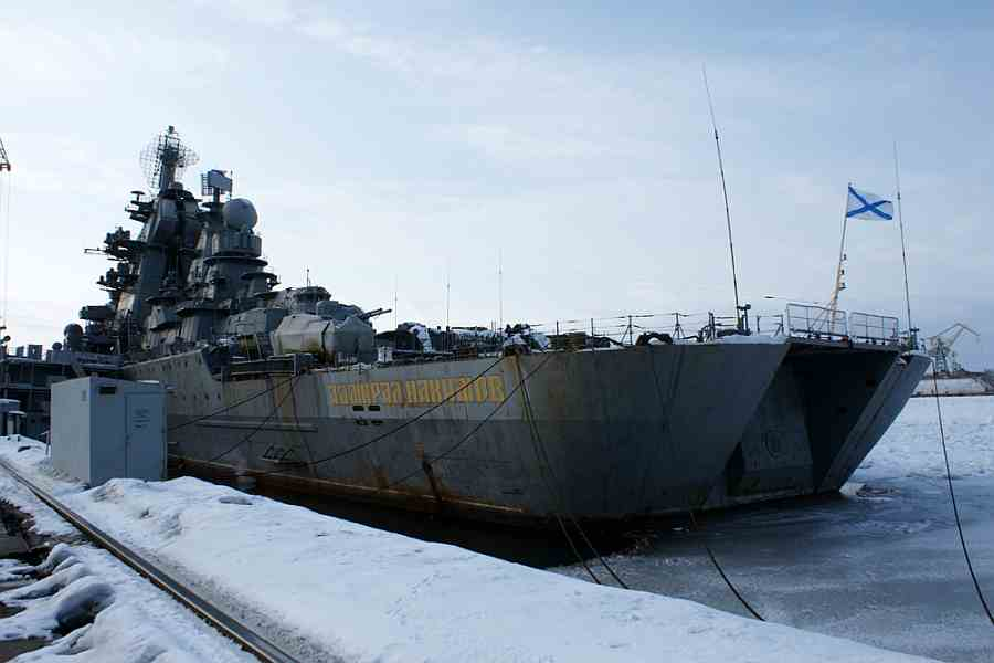 """Адмирал Нахимов"" на ремонте"
