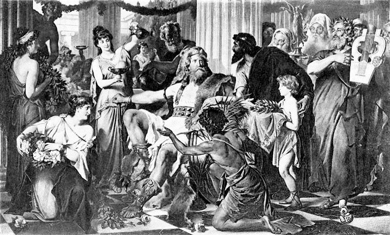 Аларих в Афинах