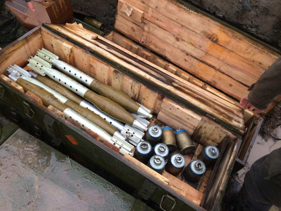 Боеприпасы для СПГ-9