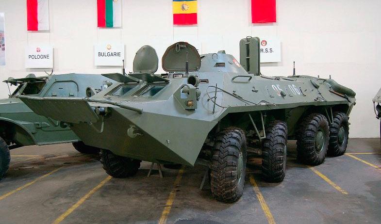 БТР-70 на выставке