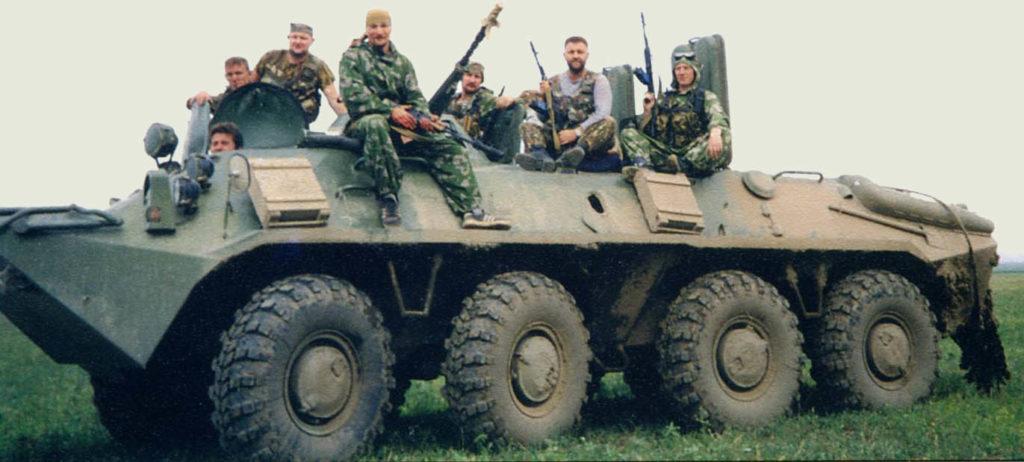 БТР-70 с экипажем