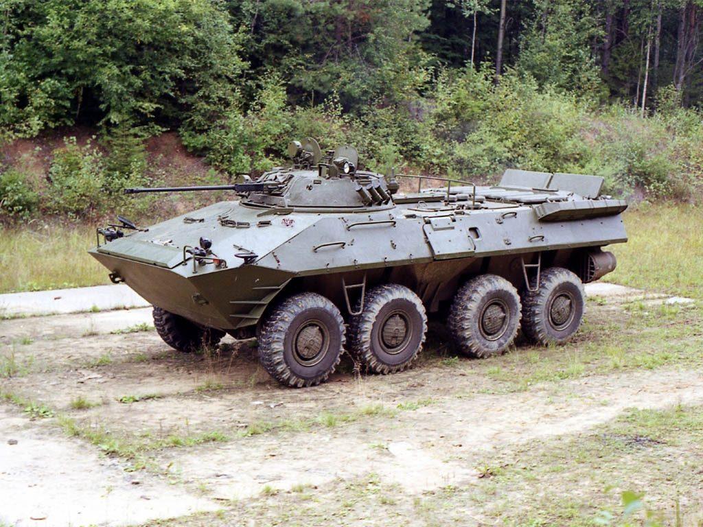 БТР-90 на стоянке