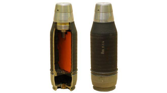 Гранаты для АГС-40