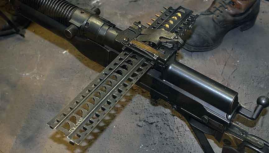 Кассета для пулемета Гочкиса
