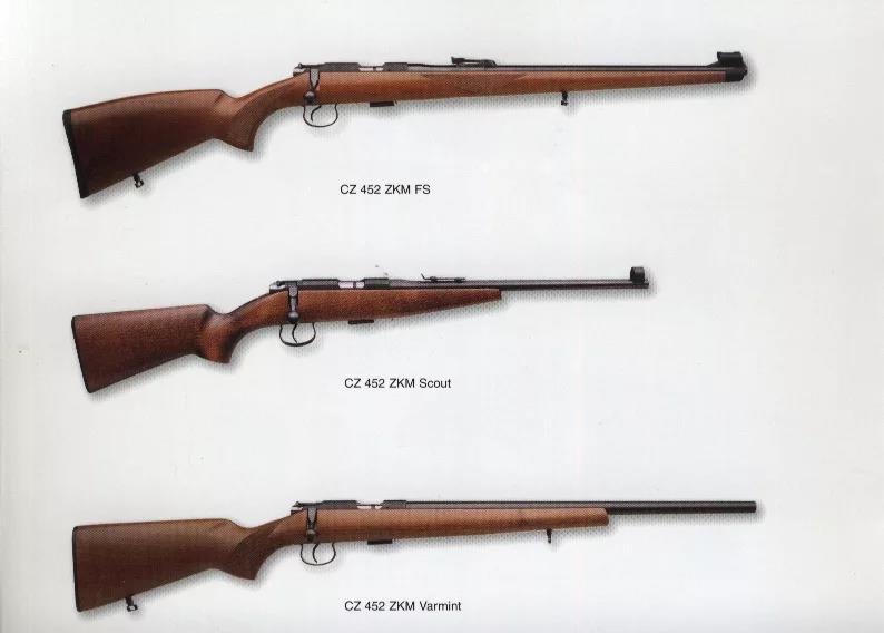 Модели CZ-452