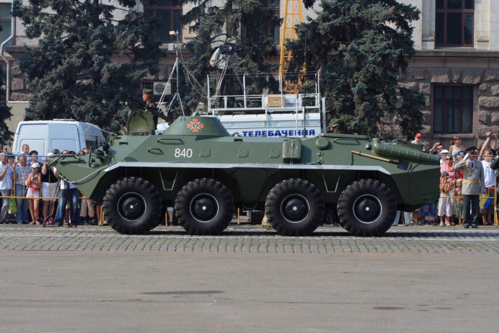 Модификация БТР-70