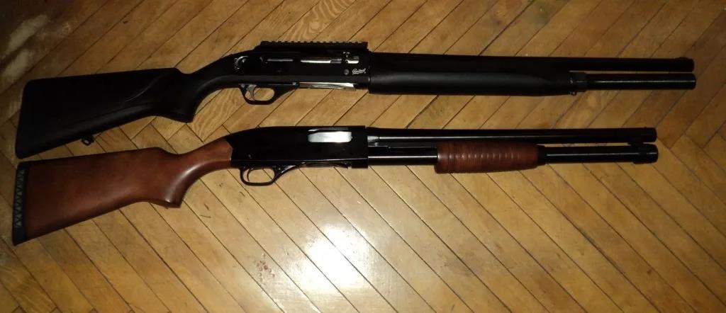 МР-153 и Winchester 1300 Defender