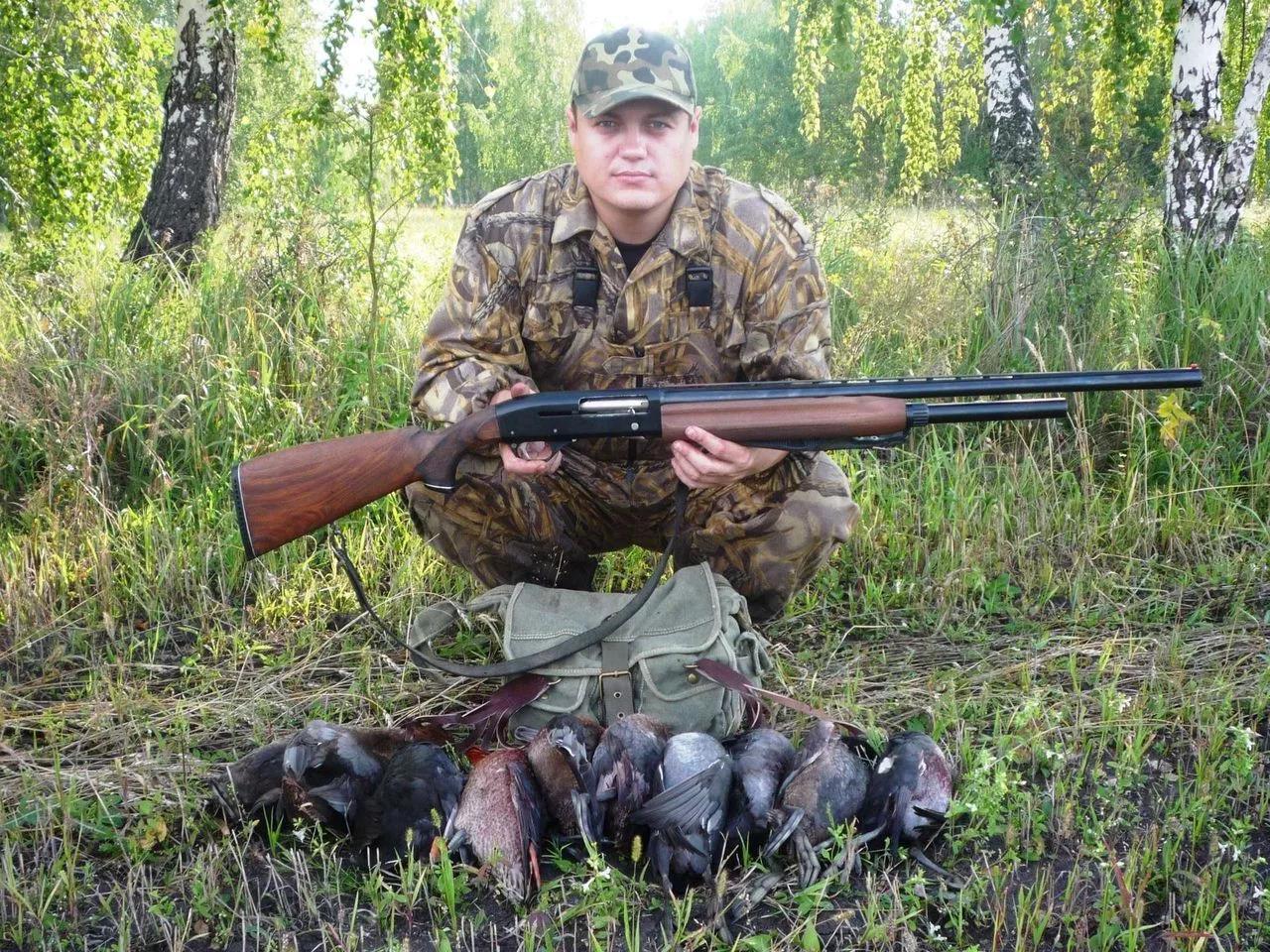 Охотник с МР-153