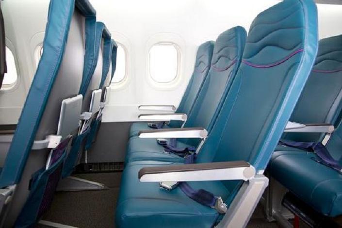 Пассажирские кресла в Boeing 717