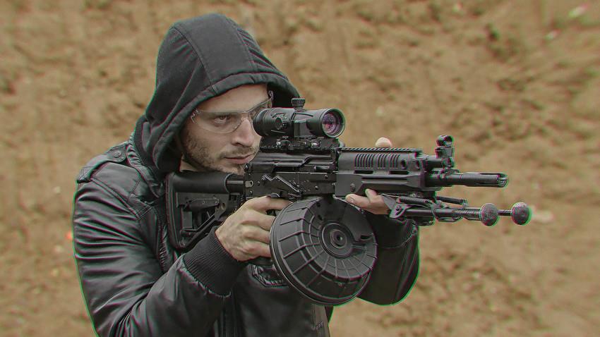 Прицеливание из РПК-16