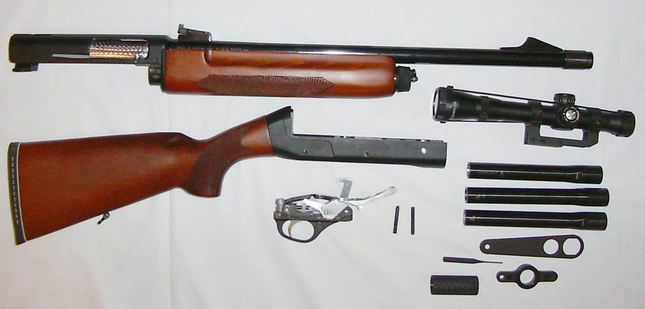 Разобранный ТОЗ-87