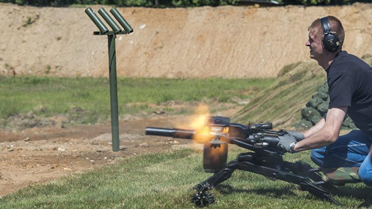 Стрельба из АГС-40