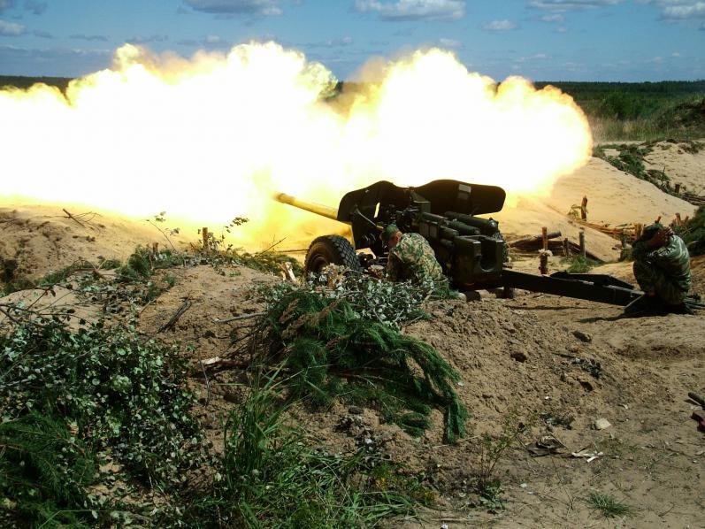 Стрельба из МТ-12