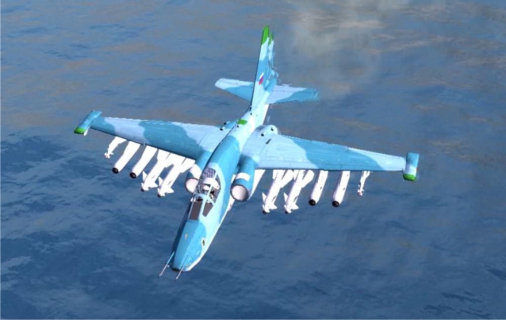 Су-39 над морем
