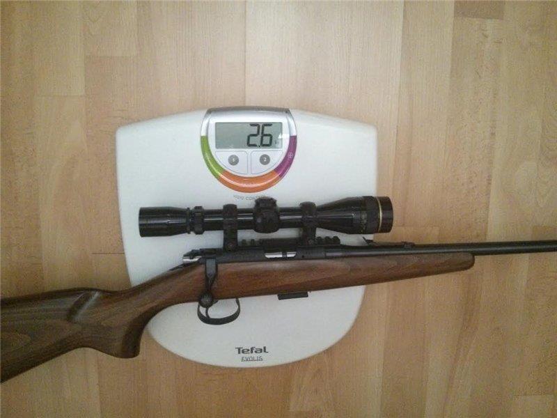 Вес CZ-452