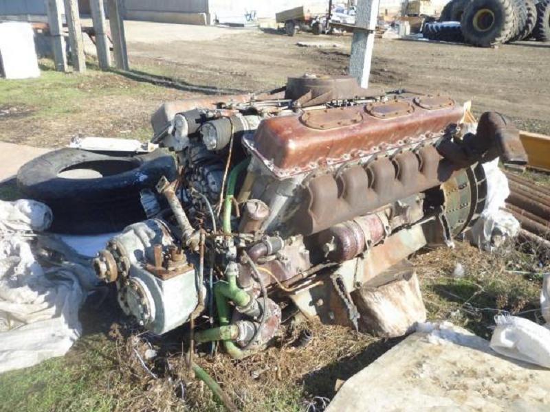 Двигатель Т-54