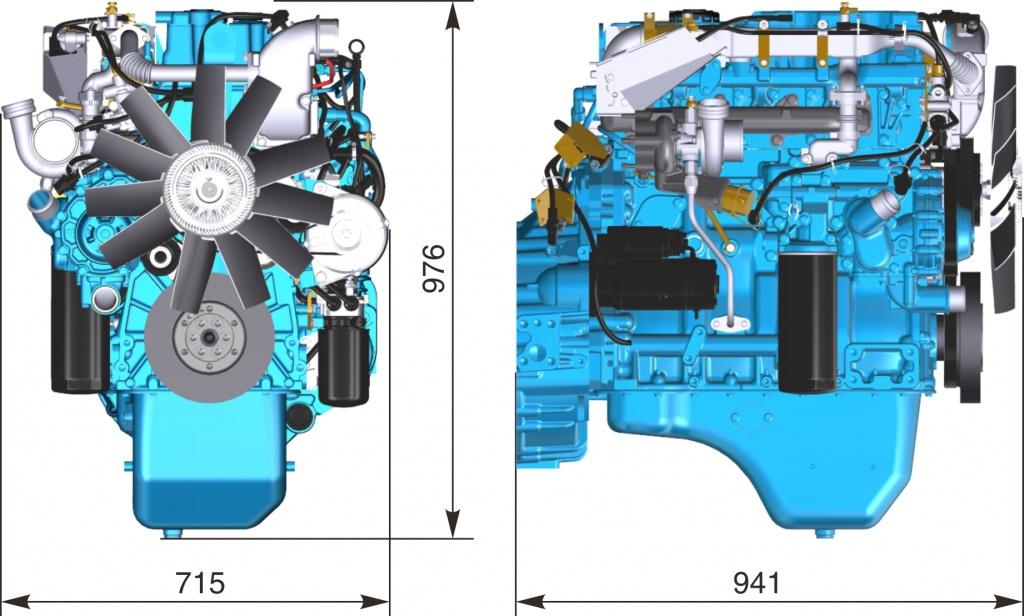 Двигатель ЯМЗ-53441