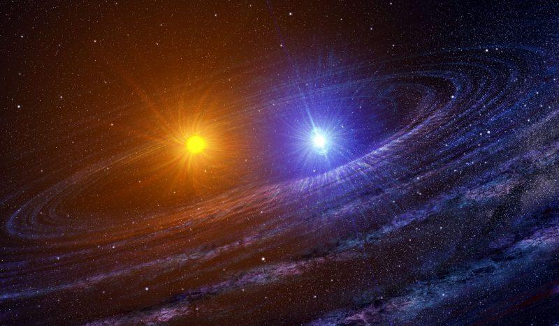 Двойная звезда Солнце-Юпитер