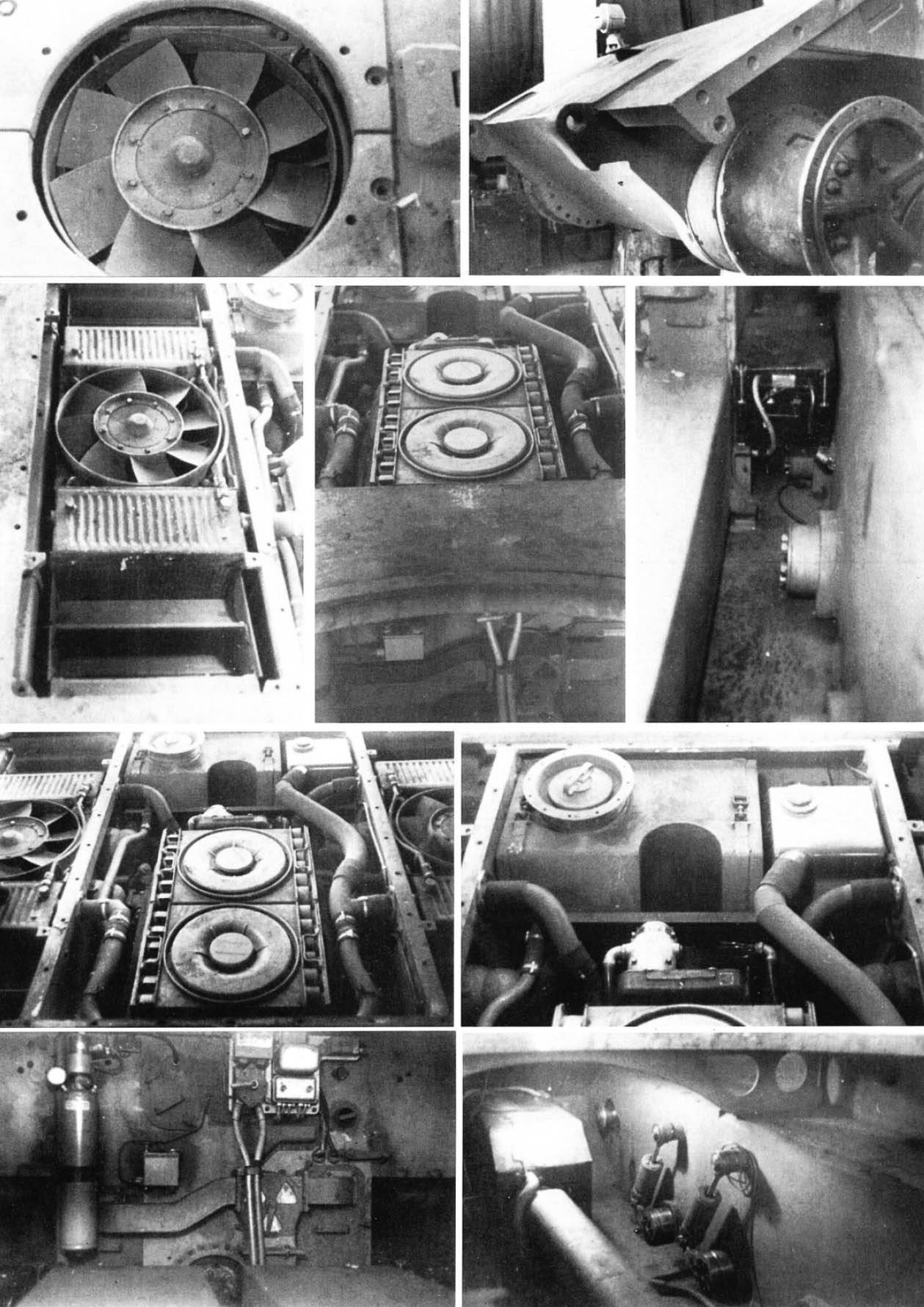 Элементы танка E-100