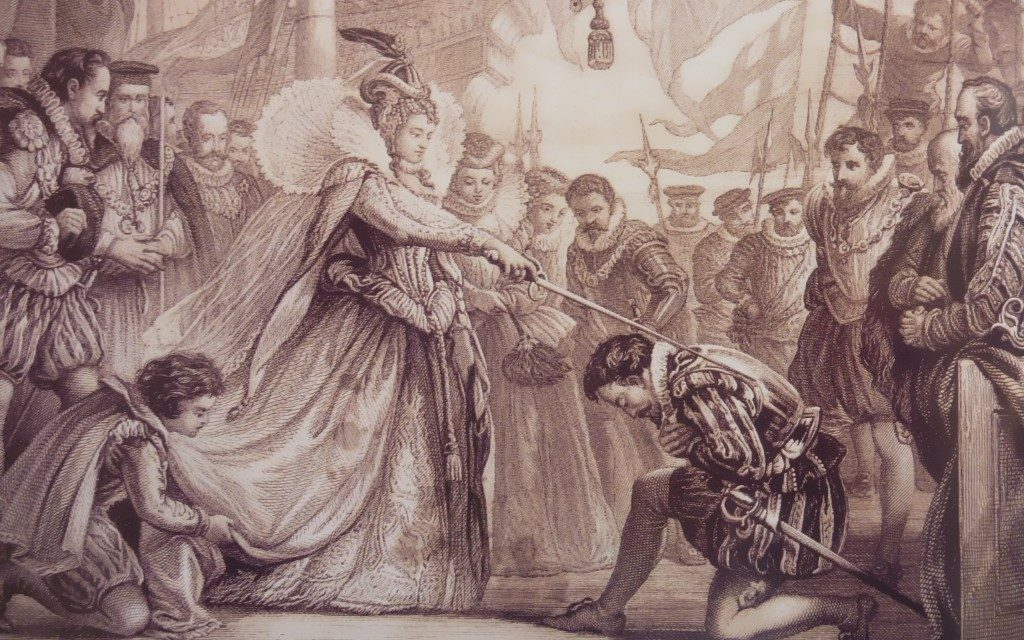 Елизавета I и Фрэнсис Дрейк