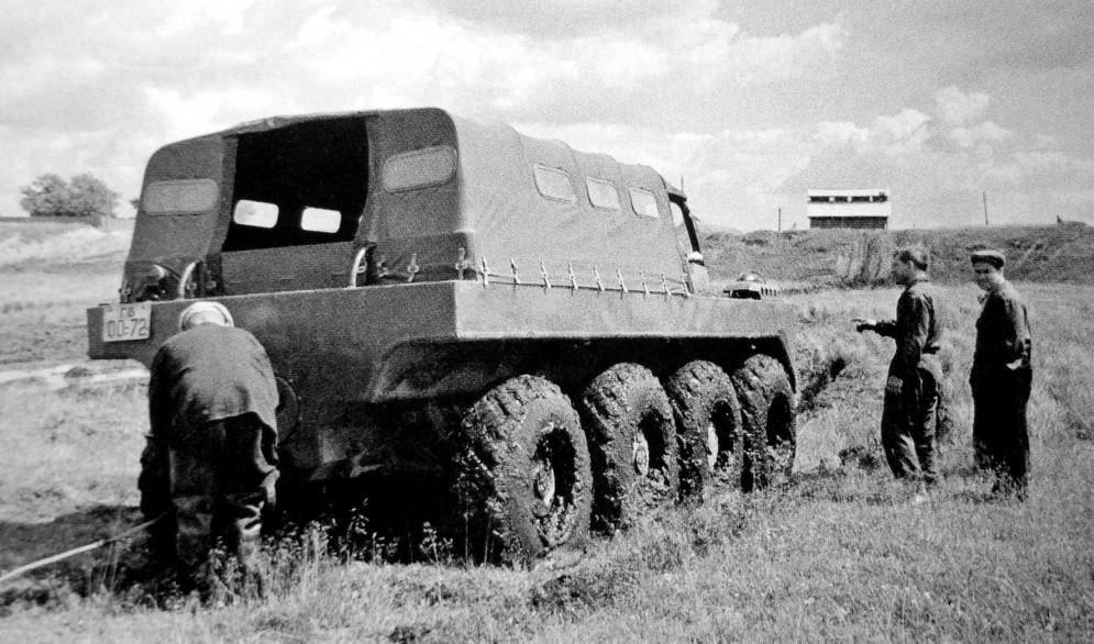 ГАЗ-62 на бездорожье