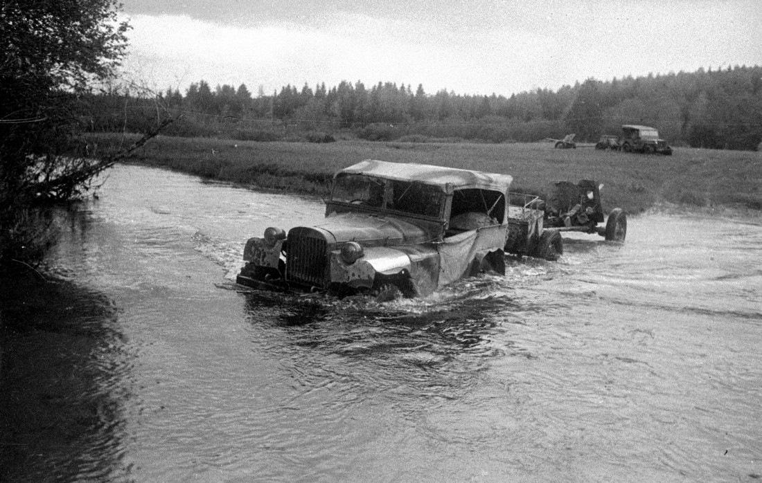 ГАЗ-64 на испытаниях