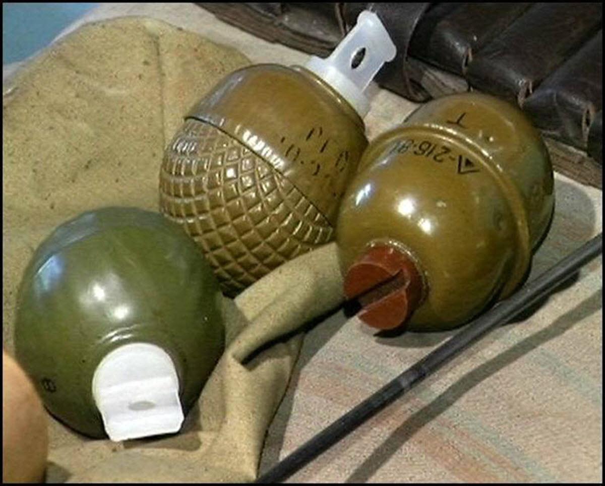 Гранаты без взрывателей