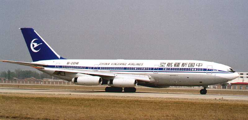 Ил-86 China Xinjiang Airlines
