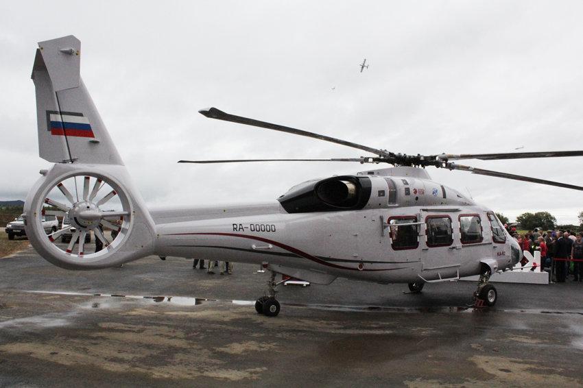 Ка-62 на выставке