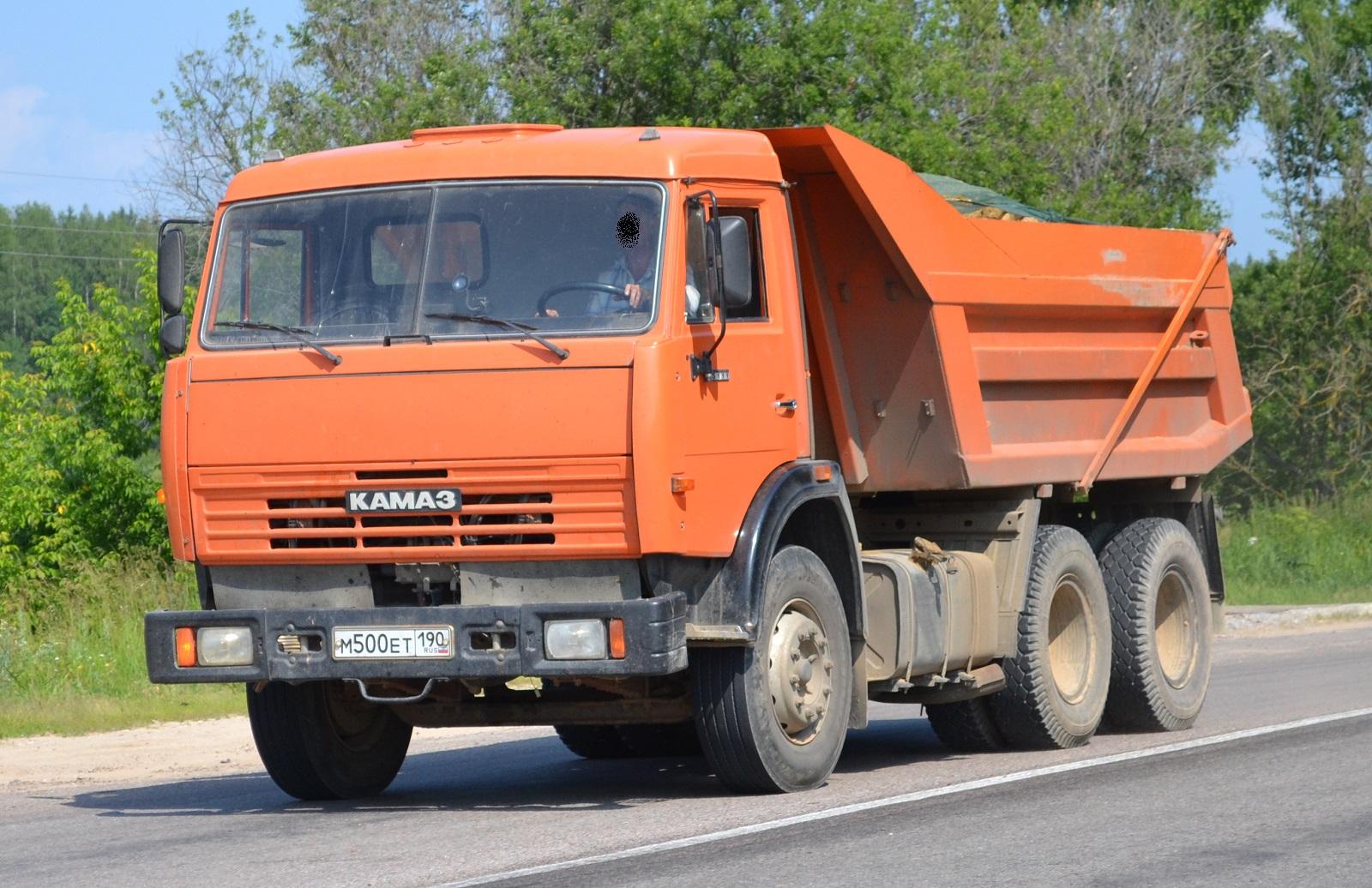 КамАЗ-55111 на дороге