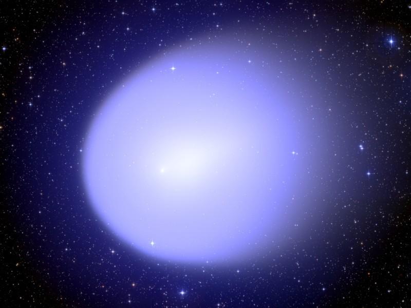 Кома кометы Галлея