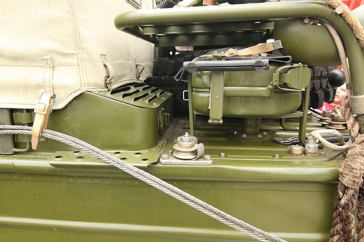 Кормовой отсек ГАЗ-46