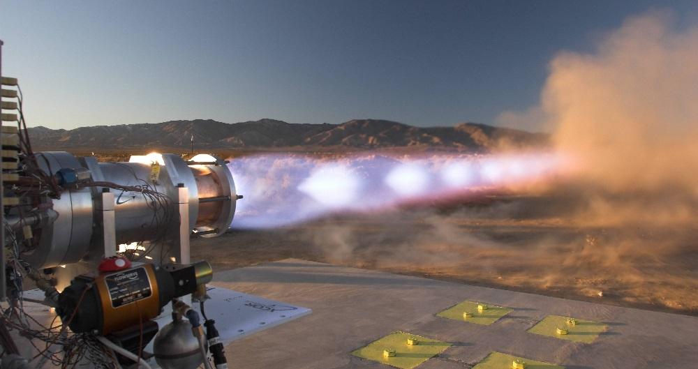 Метановый ракетный двигатель