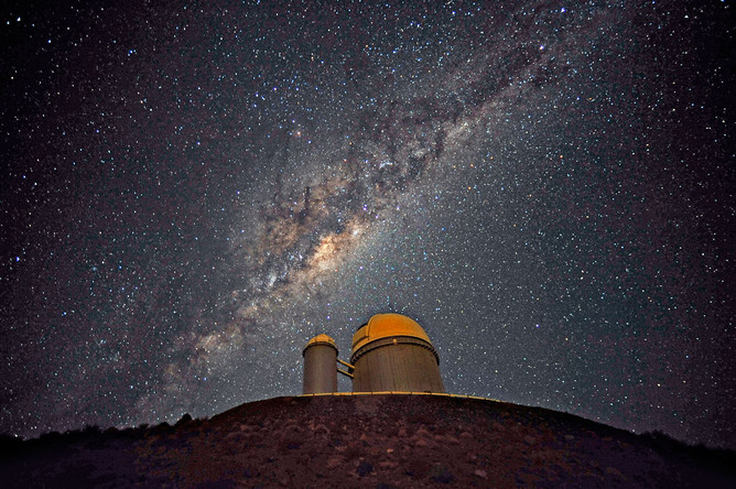 Млечный путь в телескоп