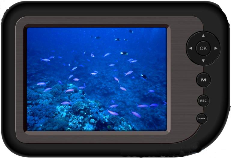 Монитор подводной камеры