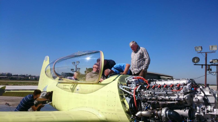 Мотор Як-152